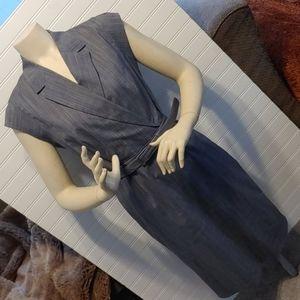 Banana Republic plaid dress